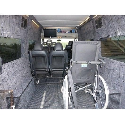 Bus Ducato wnętrze