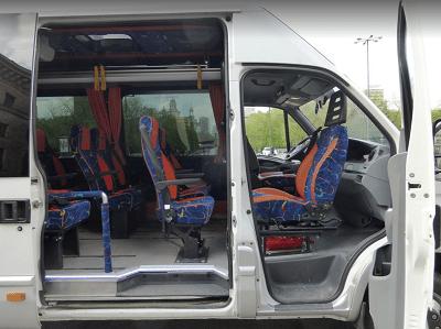 Fotel obrotowy w busie Iveco