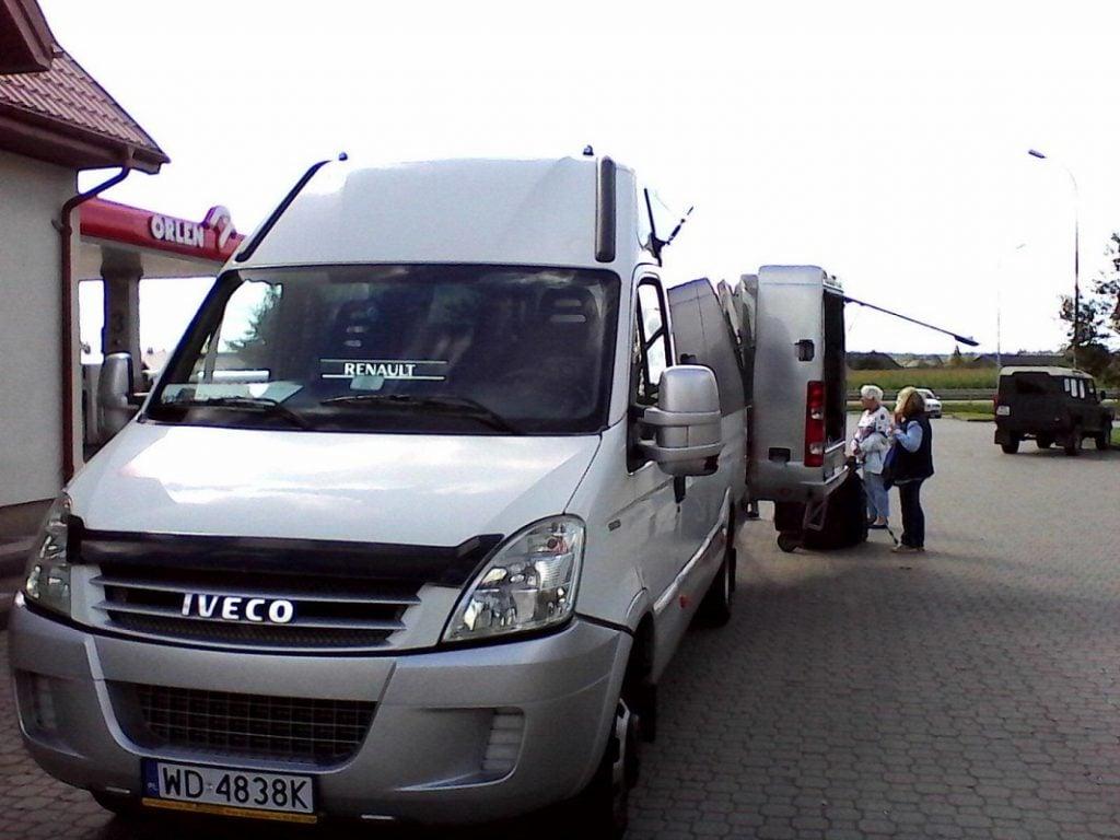 Samochód Iveco Daily