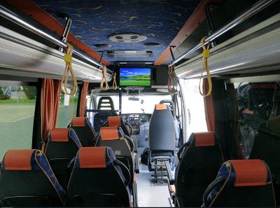 Telewizor 22 cali w busie Iveco